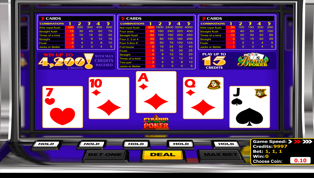 Video Poker Kostenlos