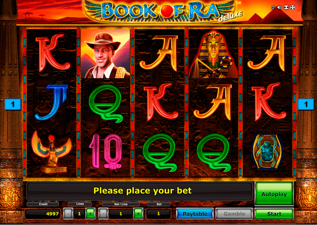 luxury casino book of ra