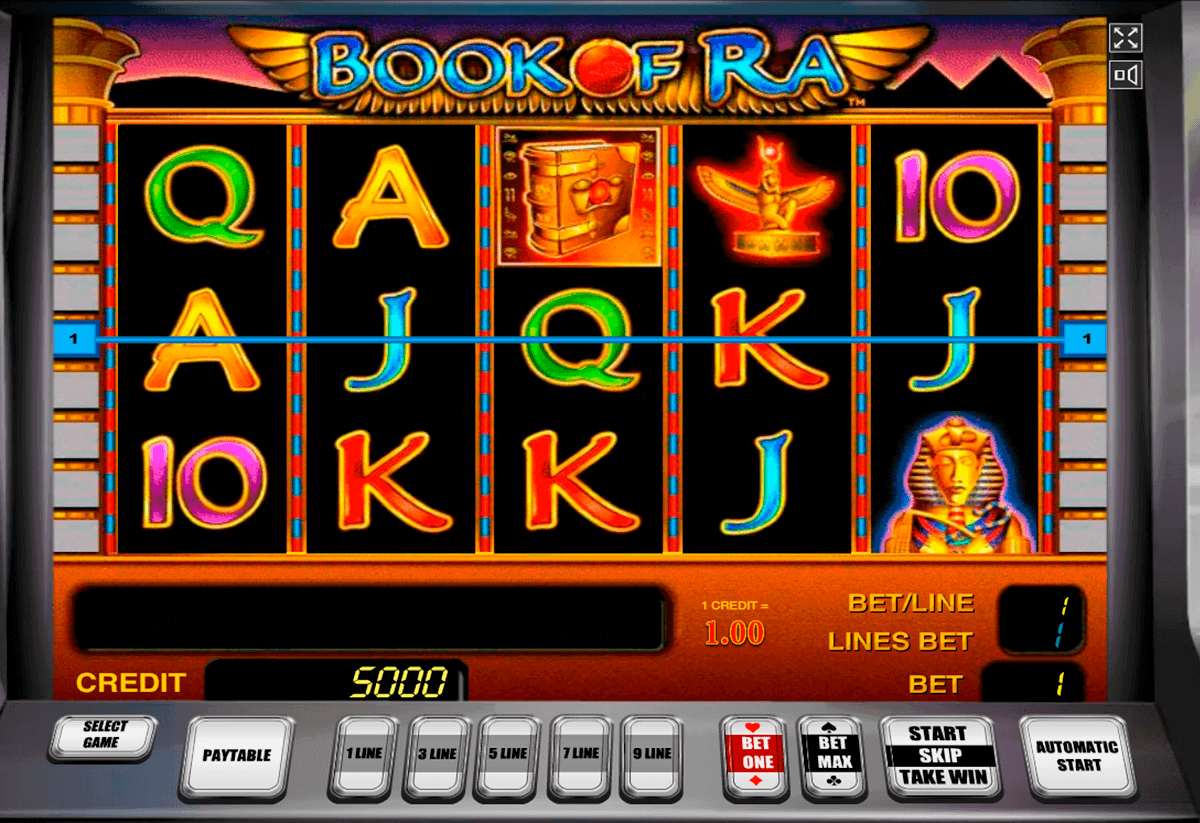 online casino slot the book of ra