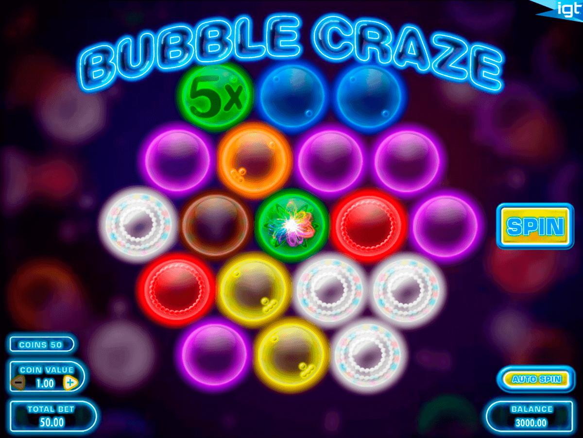 bubble craze igt spielautomaten