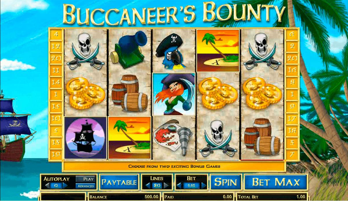 buccaneers bounty amaya spielautomaten