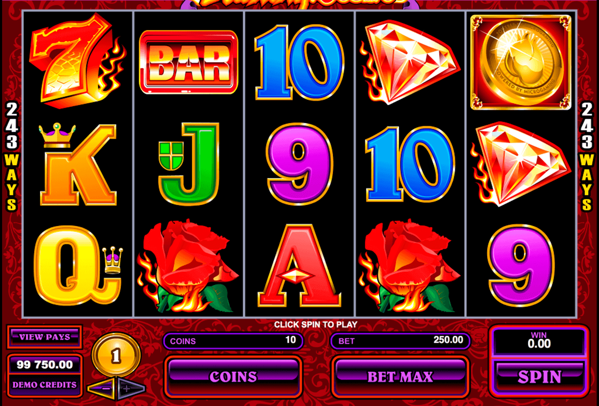Burning Desire™ Slot spel spela gratis i Microgaming Online Casinon