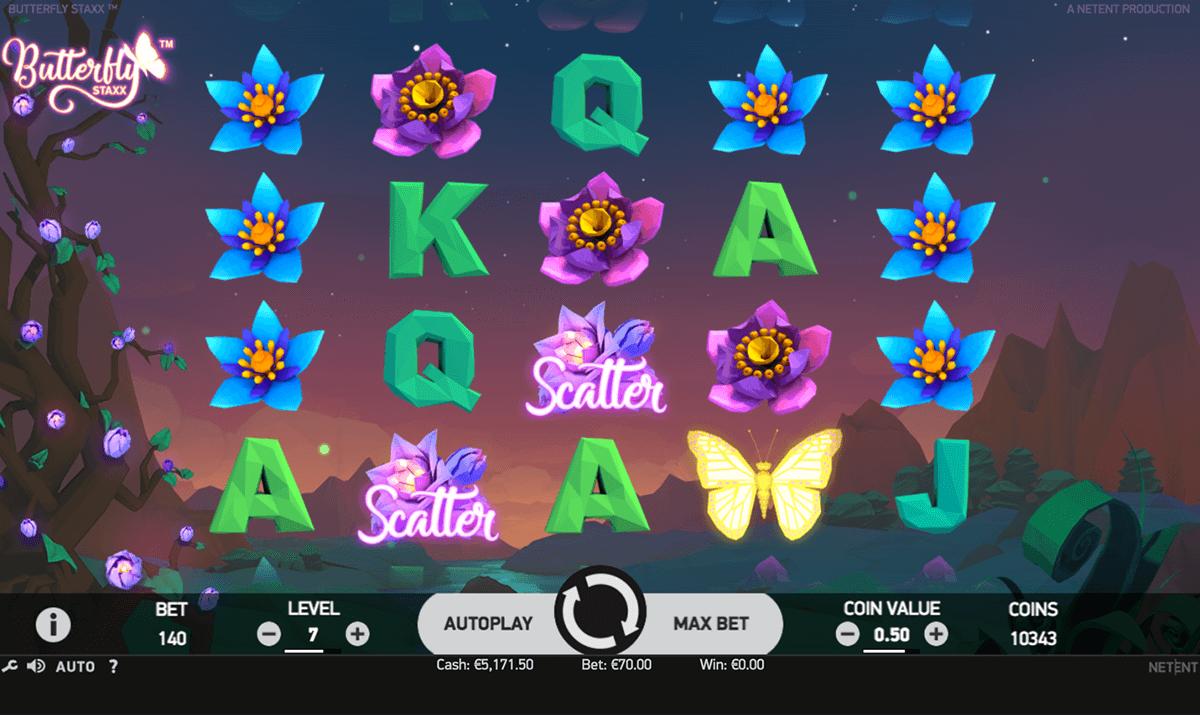 butterfly staxx spielen