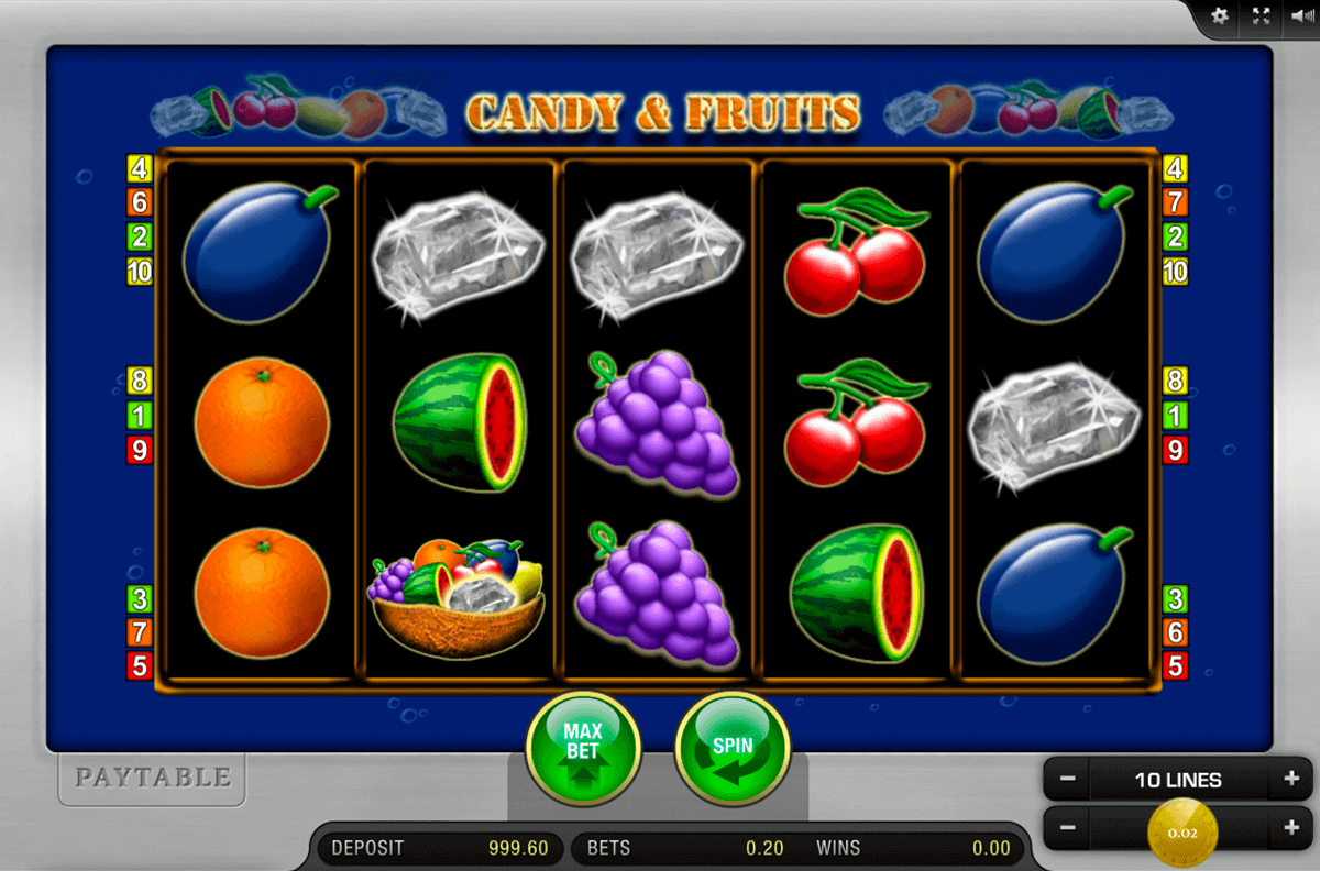 candy and fruits merkur spielautomaten