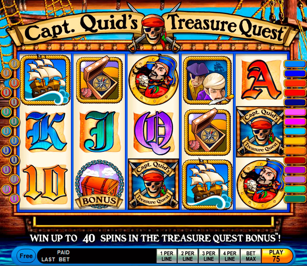 capt quids treasure quest igt spielautomaten