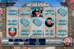 captain america playtech spielautomaten