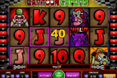 cartoon capers gaming spielautomaten