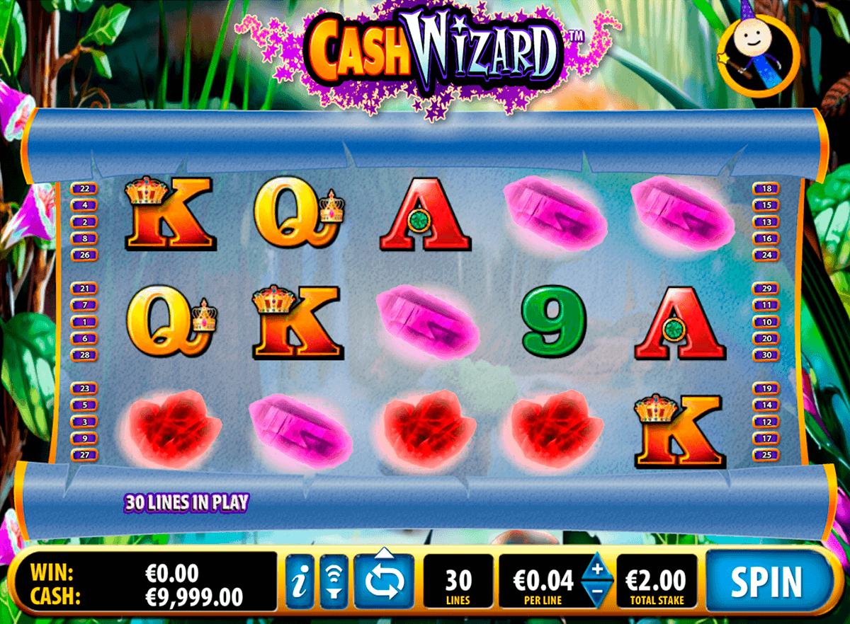 cash wizard bally spielautomaten