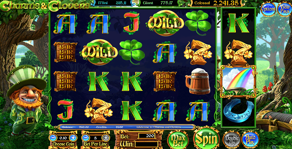 charms clovers betsoft spielautomaten