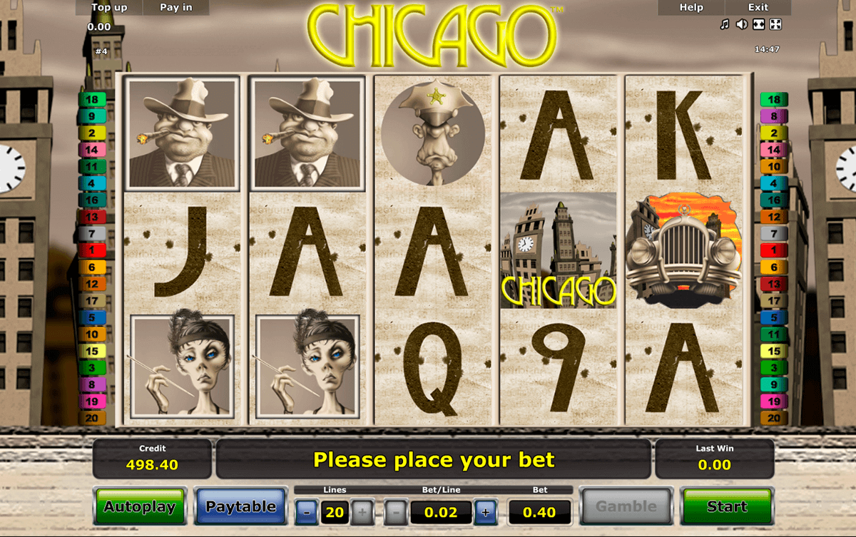 chicago novomatic spielautomaten