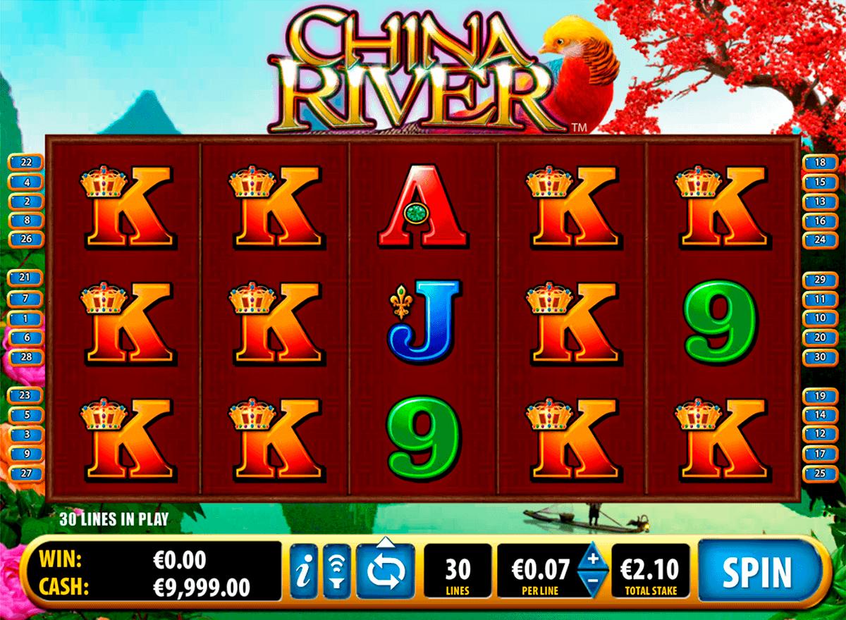 china river bally spielautomaten