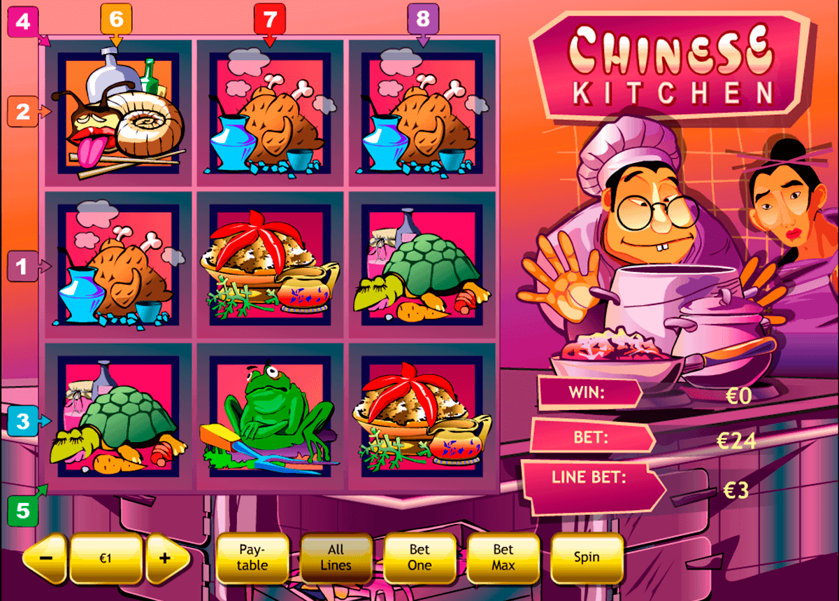 chinese kitchen playtech spielautomaten