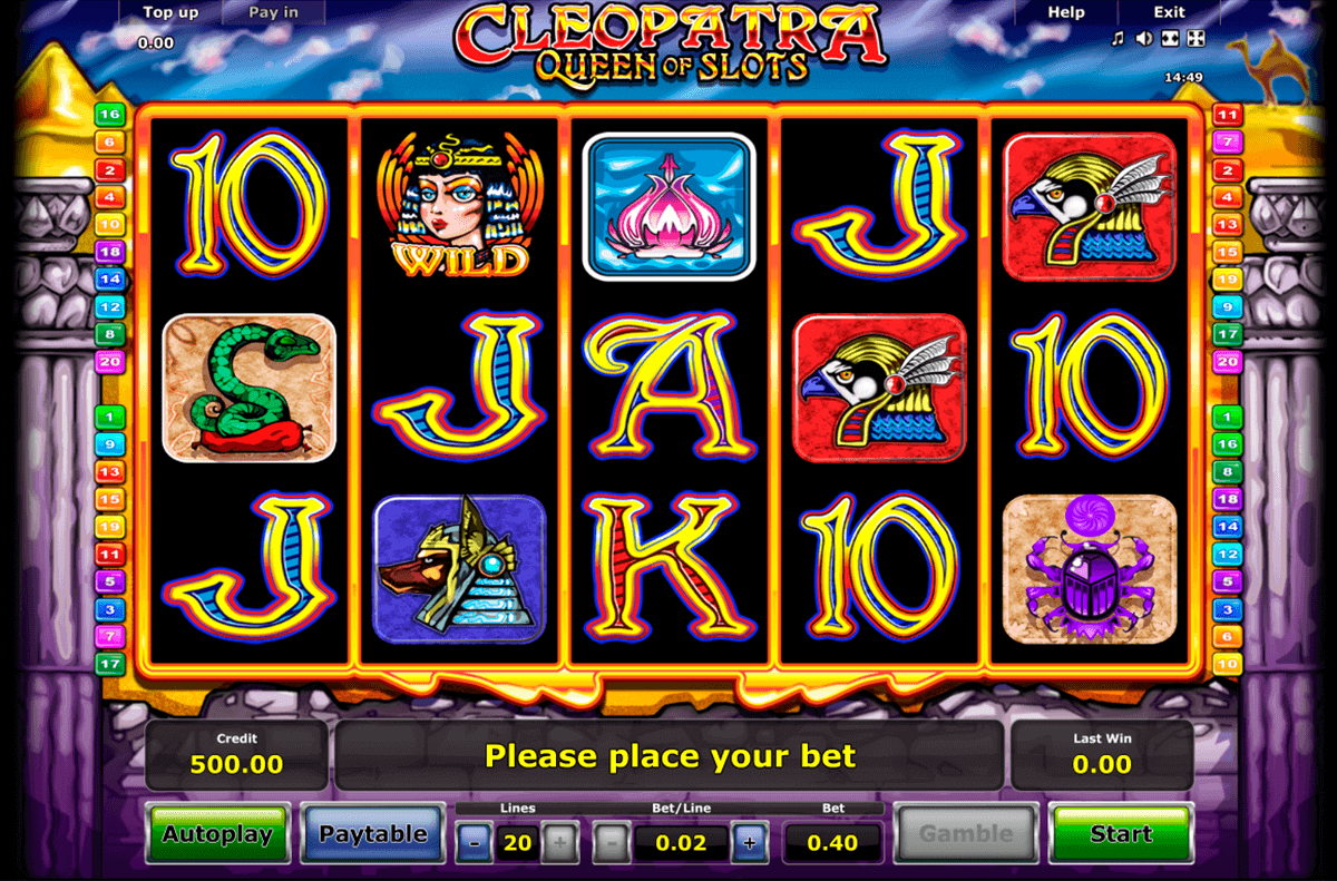 Spiele Cleopatra Jewels - Video Slots Online