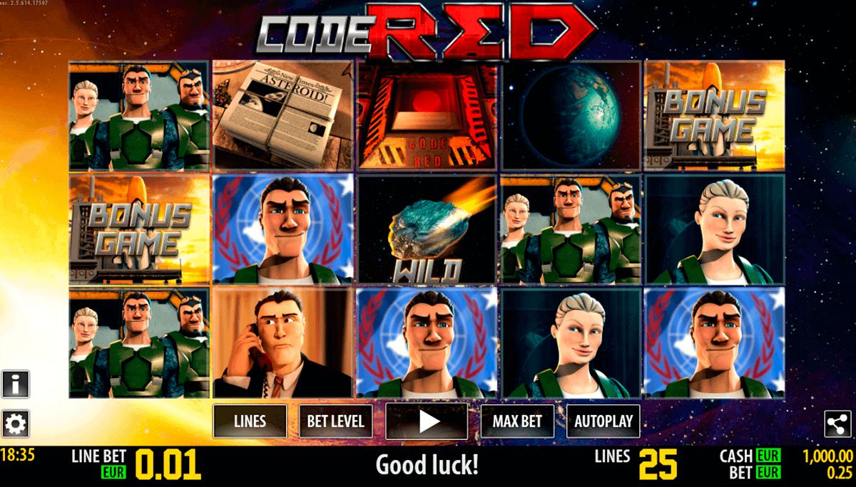 code red hd world match spielautomaten