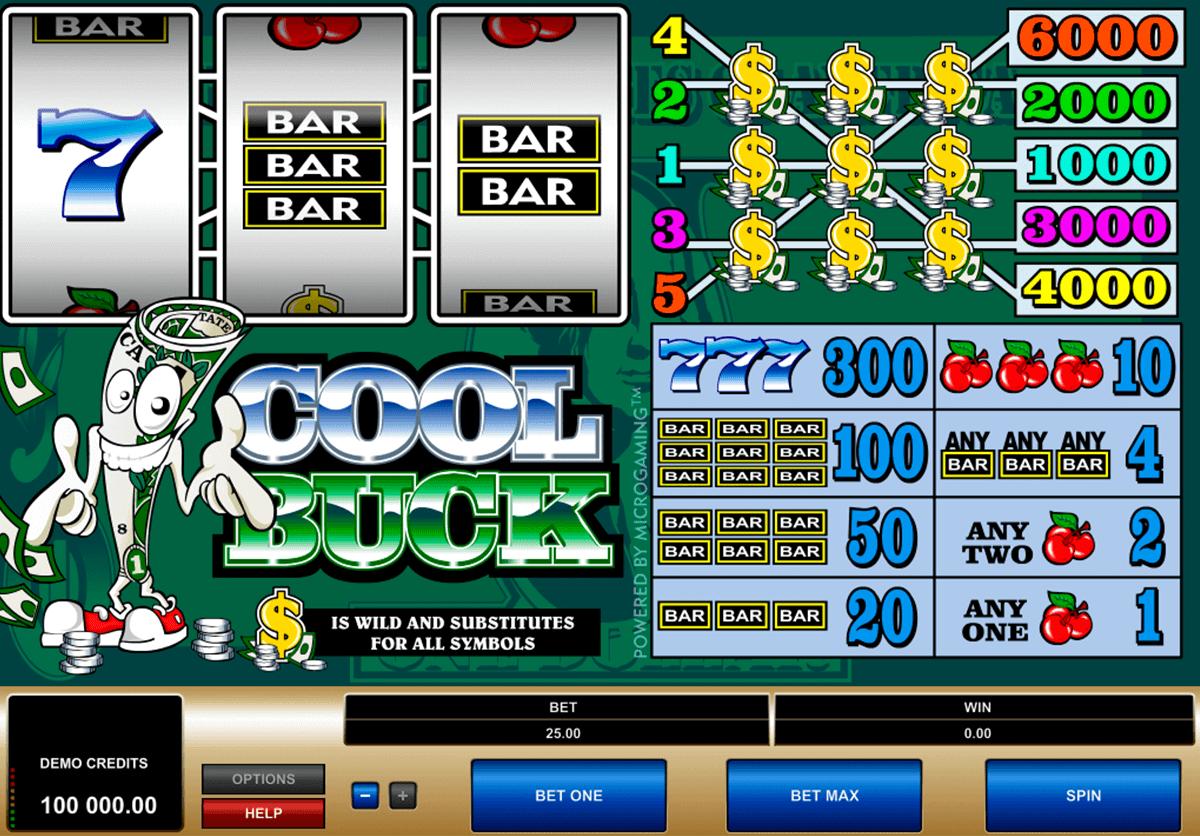 cool buck microgaming spielautomaten
