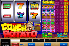 couch potato microgaming spielautomaten