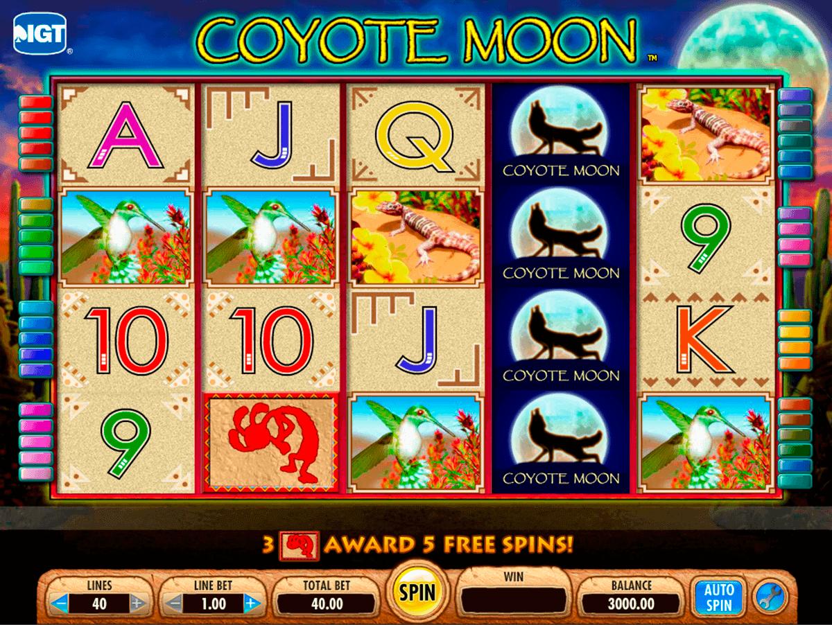 coyote moon igt spielautomaten