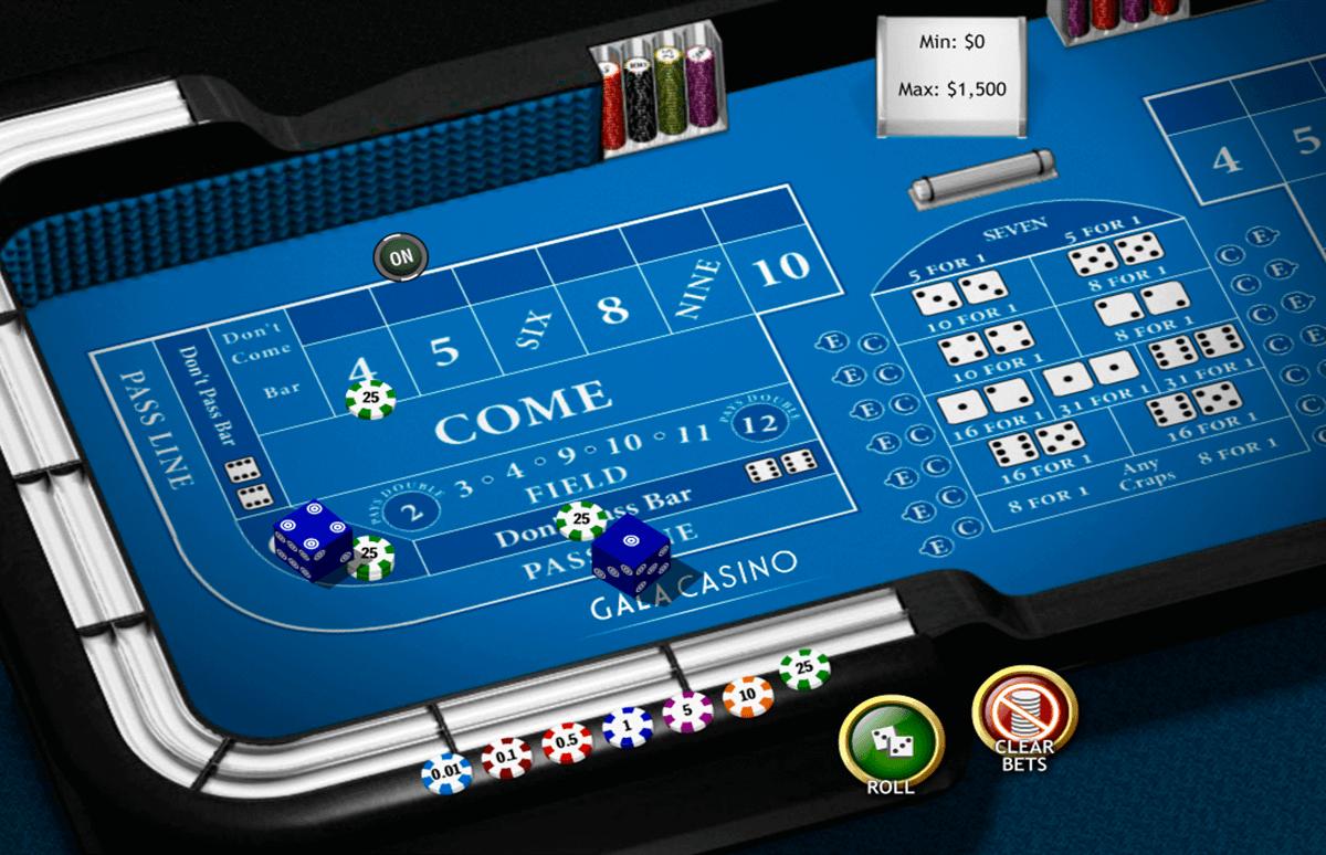 craps casino regeln