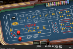 craps pro world match