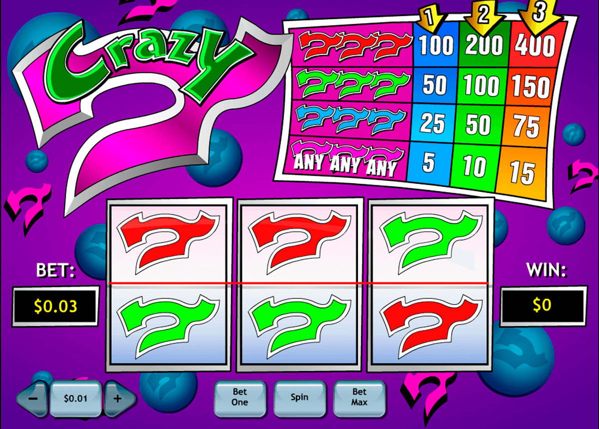 crazy 7 playtech spielautomaten