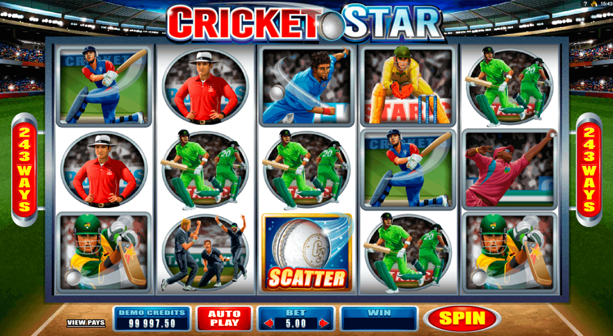 cricket star microgaming spielautomaten