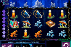 crystal forest wms spielautomaten