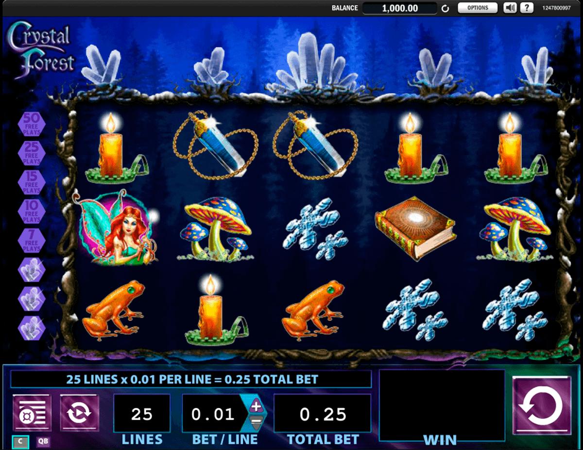 crystal forest wms spielautomaten