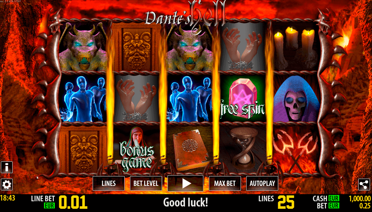 dante hell hd world match spielautomaten