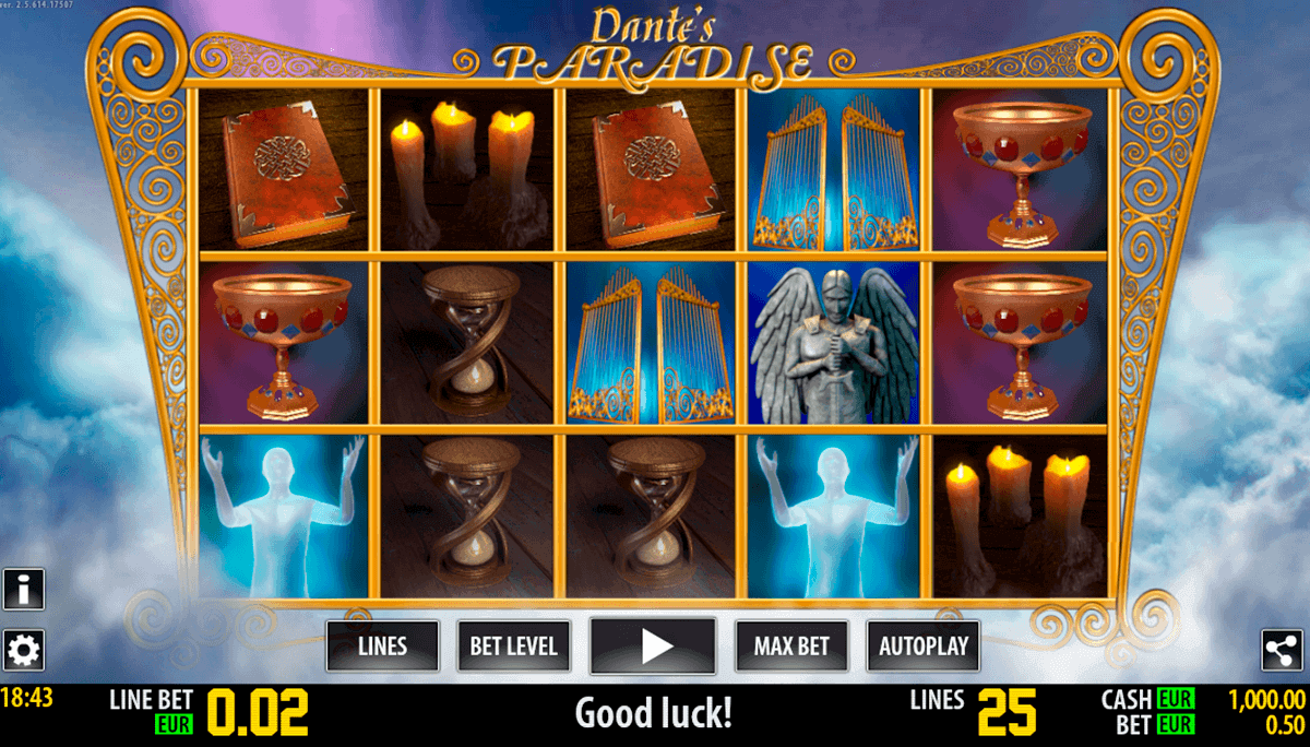 dante paradise hd world match spielautomaten