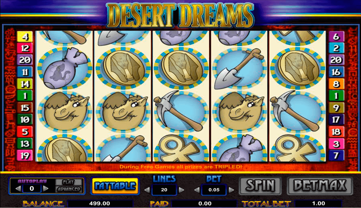 desert dreams amaya spielautomaten