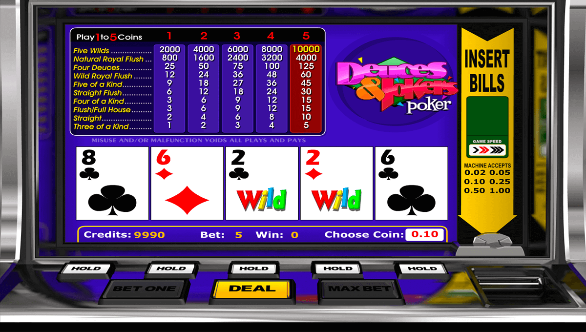 online casino video poker um echtgeld spielen