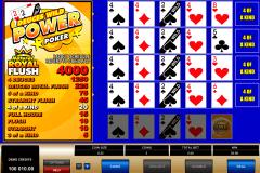 deuces wild  play power poker microgaming