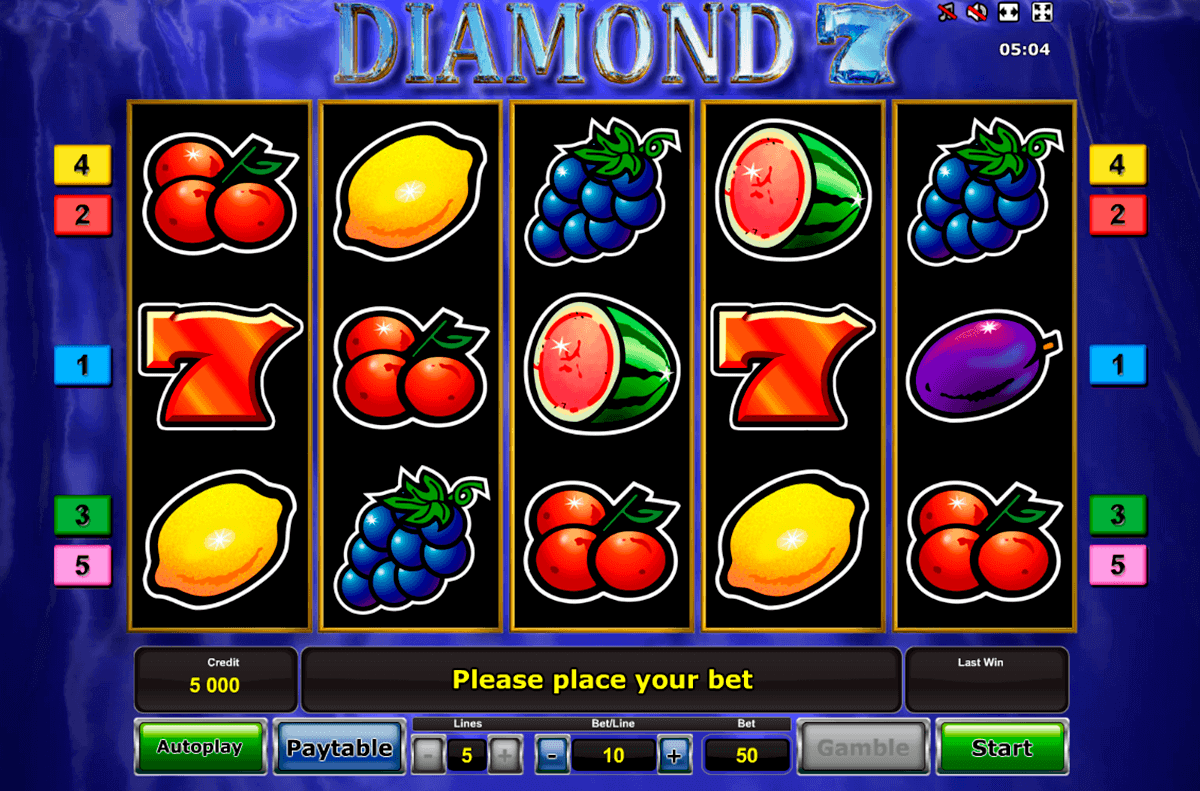 diamond 7 novomatic spielautomaten