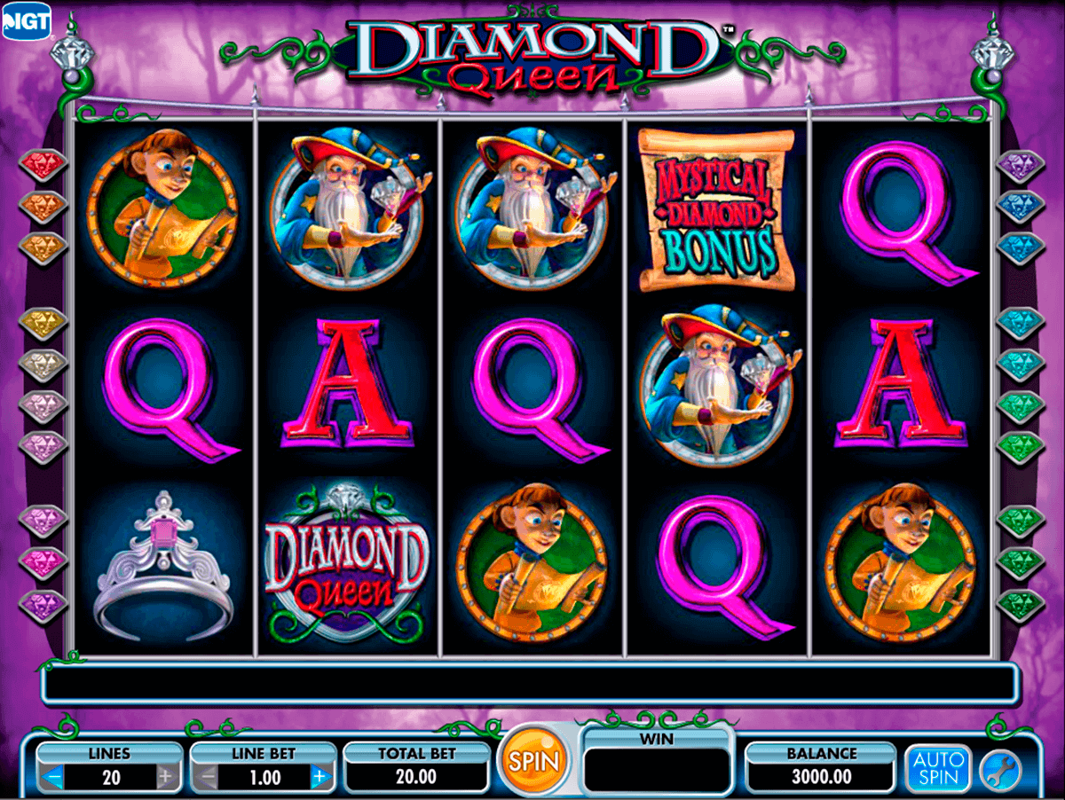 diamond queen igt spielautomaten