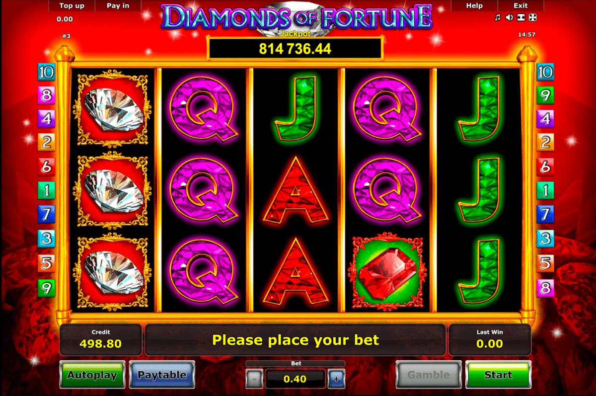 diamonds of fortune novomatic spielautomaten