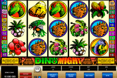 dino might microgaming spielautomaten