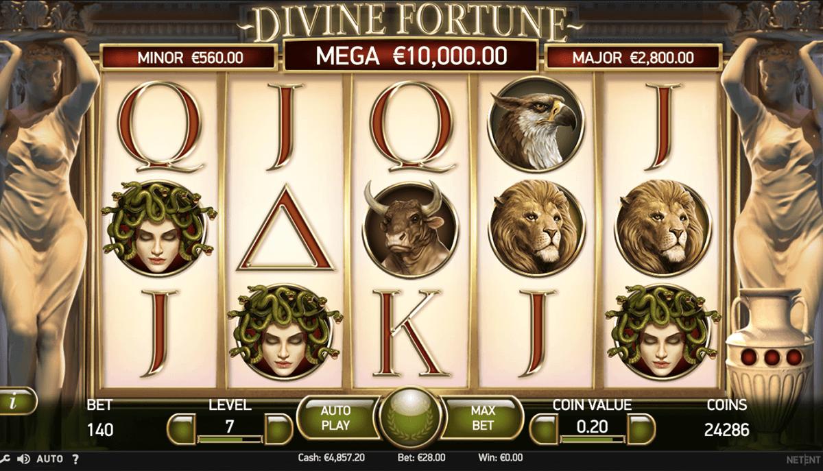 divine fortune netent spielautomaten