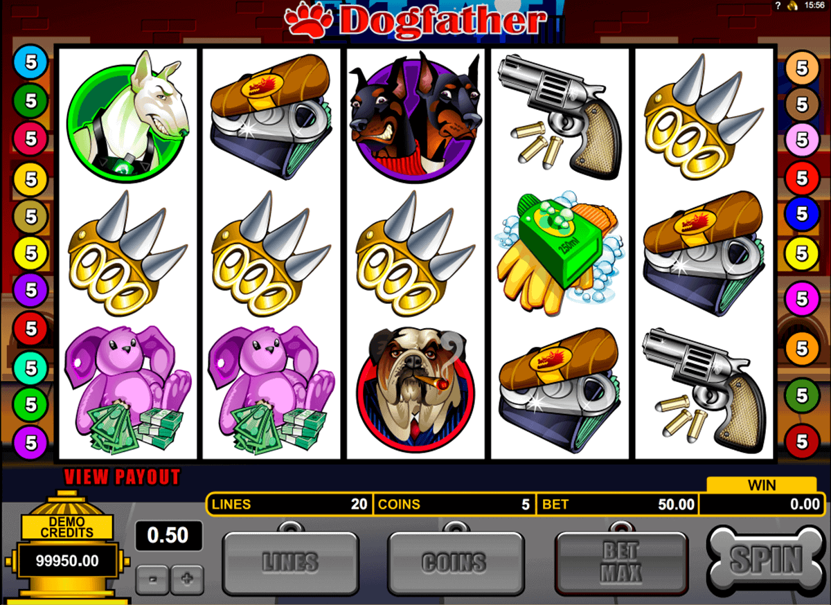 dogfather microgaming spielautomaten