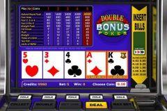 double bonus poker betsoft