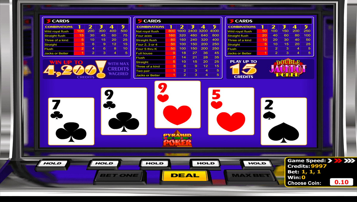 Spiele Bonus Poker - 10 Hands - Video Slots Online