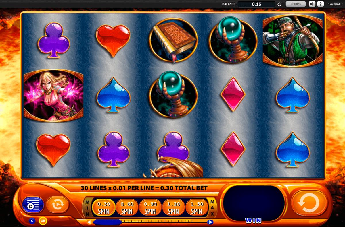 dragons inferno wms spielautomaten