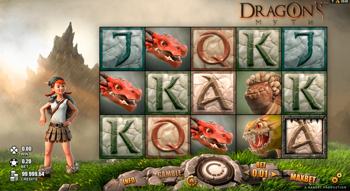 dragons myth rabcat spielautomaten