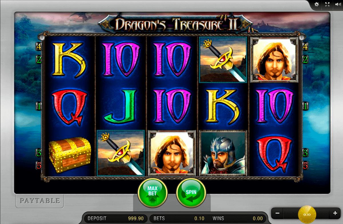 Dragon's treasure 2 kostenlos spielen