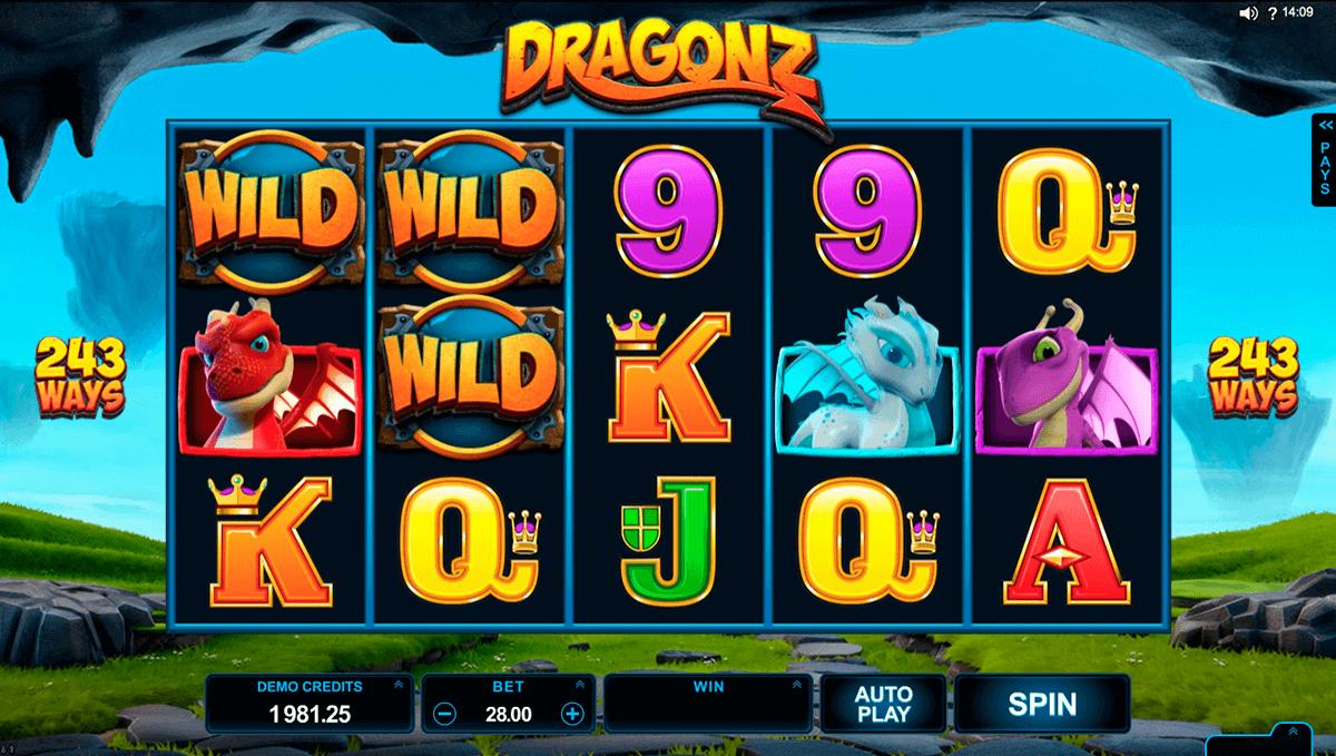 dragonz microgaming spielautomaten