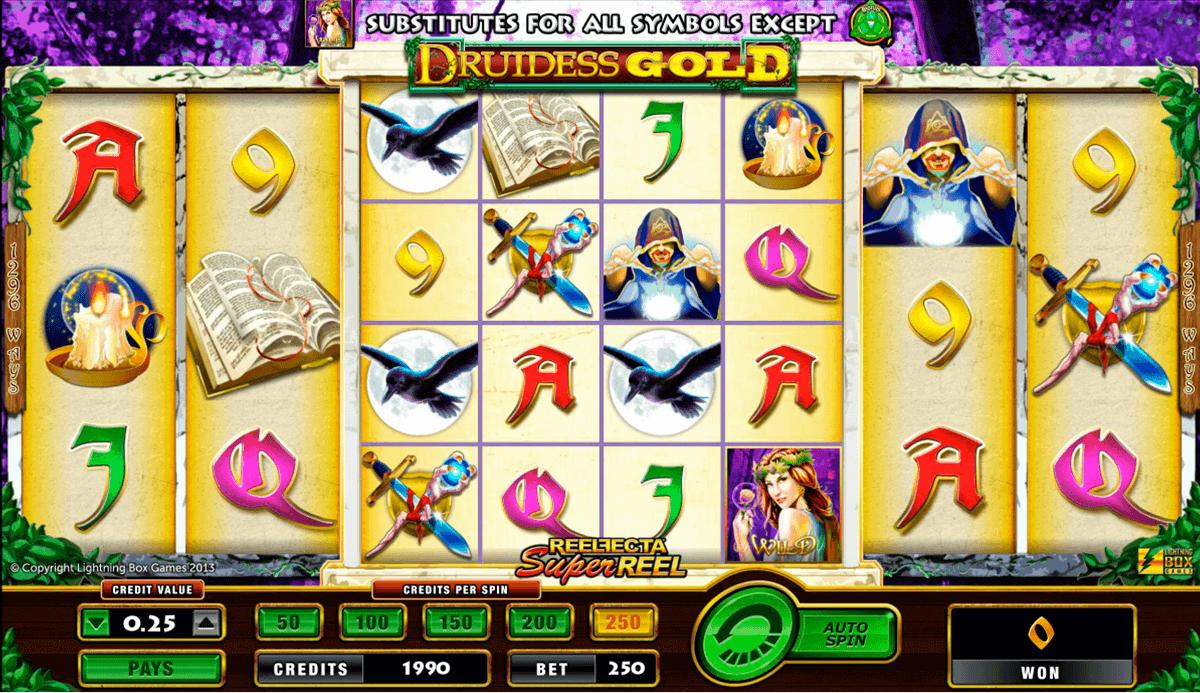 druidess gold amaya spielautomaten