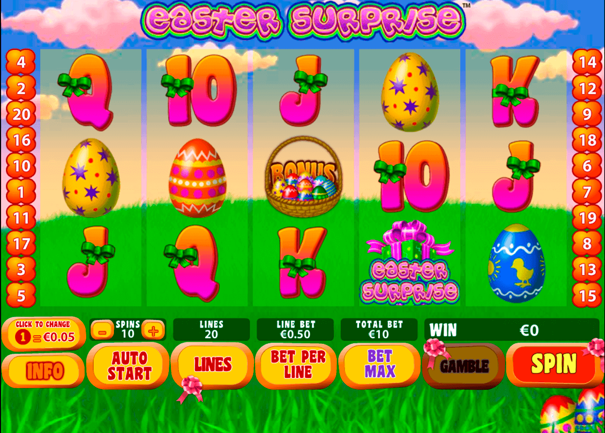 easter surprise playtech spielautomaten