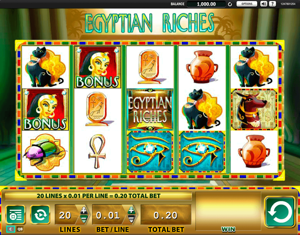 egyptian riches wms spielautomaten