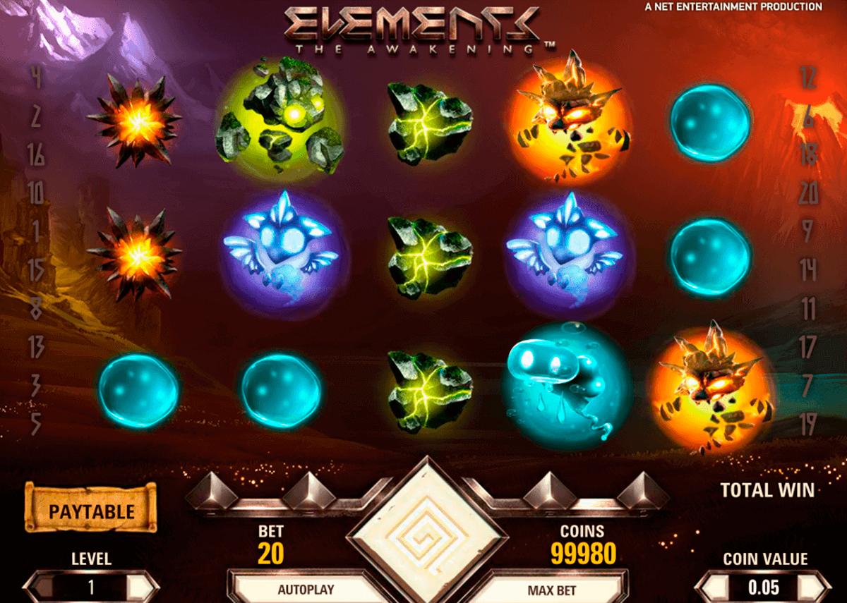 elements netent spielautomaten