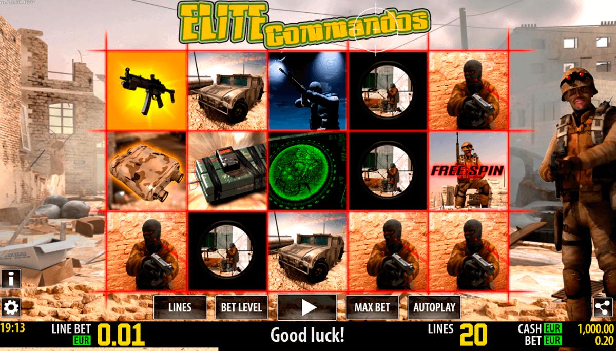 elite commandos hd world match spielautomaten