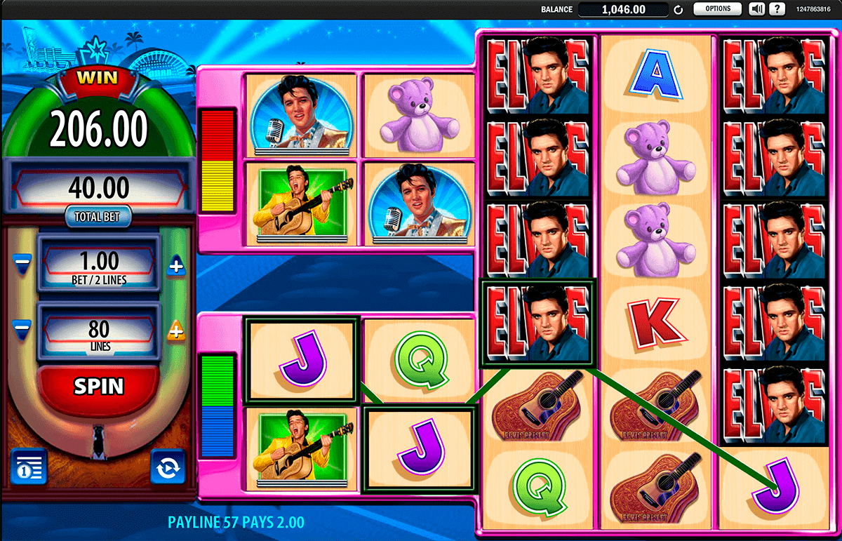 elvis the king lives wms spielautomaten